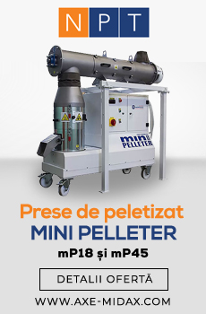Prese de peletizat Mini Pelleter mP18 si mP45